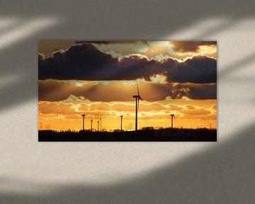 Zonsondergang van RD Foto's