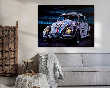 Herbie VW Käfer sur Paul Meijering