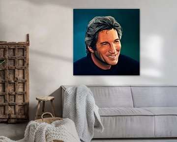 Richard Gere schilderij van Paul Meijering