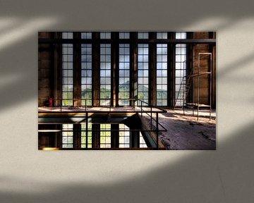 Symmetrie Fenster von Sven van der Kooi (kooifotografie)