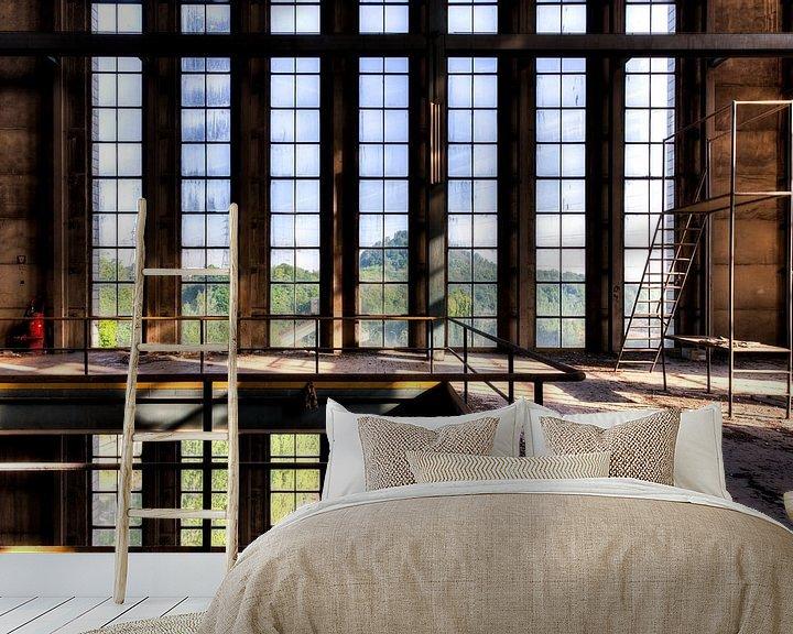 Beispiel fototapete: Symmetrie Fenster von Sven van der Kooi (kooifotografie)