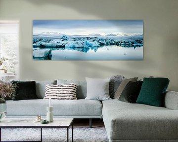 IJsmeer panorama van Sjoerd van der Wal