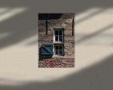 Doppeltes Burgfenster van Rolf Pötsch