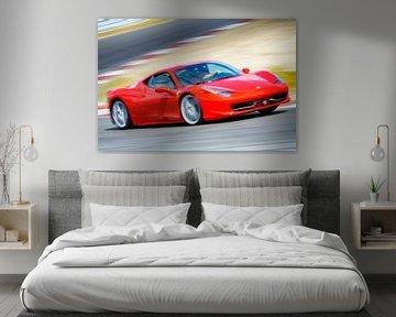 Ferrari 458 Italia van Sjoerd van der Wal