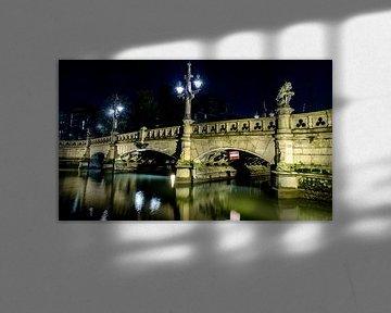 Regentessebrug in Rotterdam van Maurice Verschuur