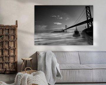 Foggy Bay Bridge von SuperB Design