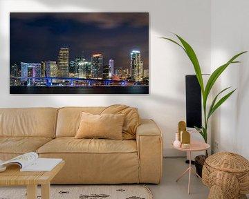 Skyline Miami Downtown von Mark den Hartog