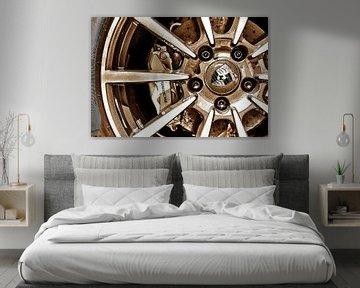 Porsche Wheel Art von 2BHAPPY4EVER.com photography & digital art