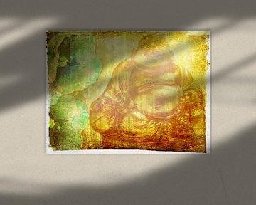 Golden Budda von Erik-Jan ten Brinke