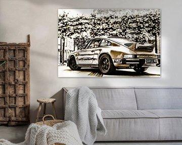 Gold Porsche 911 von 2BHAPPY4EVER.com photography & digital art