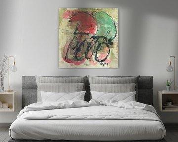 Samen fietsen von Leo de Jong
