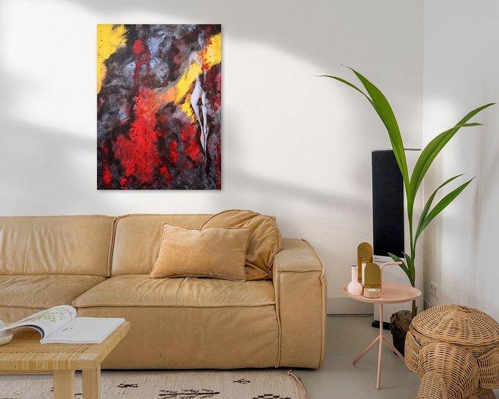 Sfeerimpressie: abstract : lady 2 van David Berkhoff