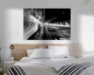 Licht in de tunnel met perspectief von Joris Louwes