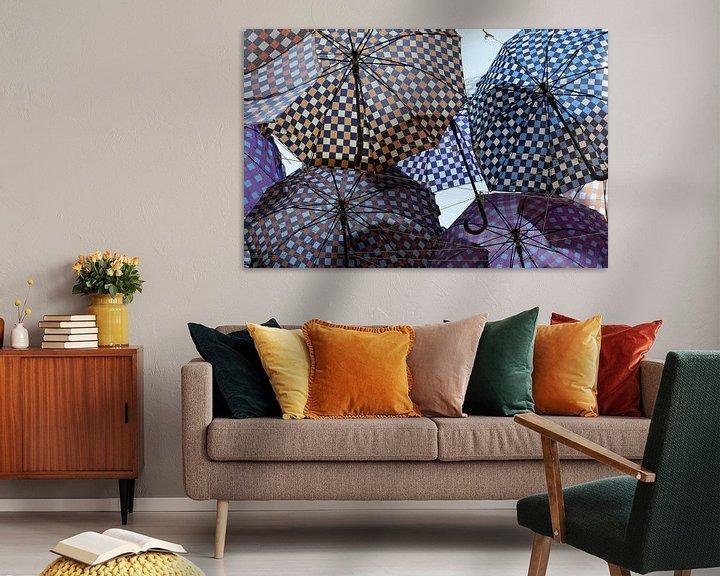 Sfeerimpressie: Paraplu's van Erwin Klaasse