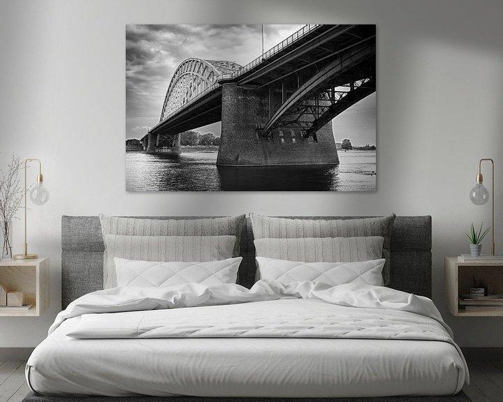 Sfeerimpressie: Waalbrug Nijmegen van Peter Moerman