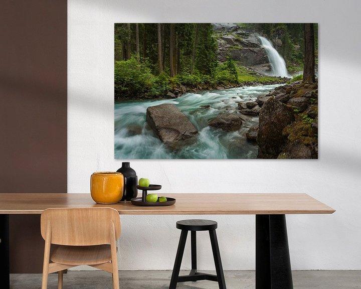 Sfeerimpressie: Krimmler Waterfall van Harold van den Berge