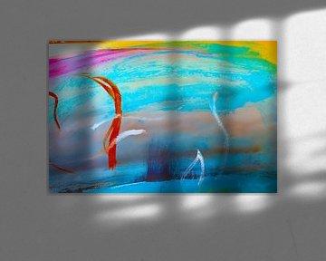 landcape abstract  van M.A. Ziehr