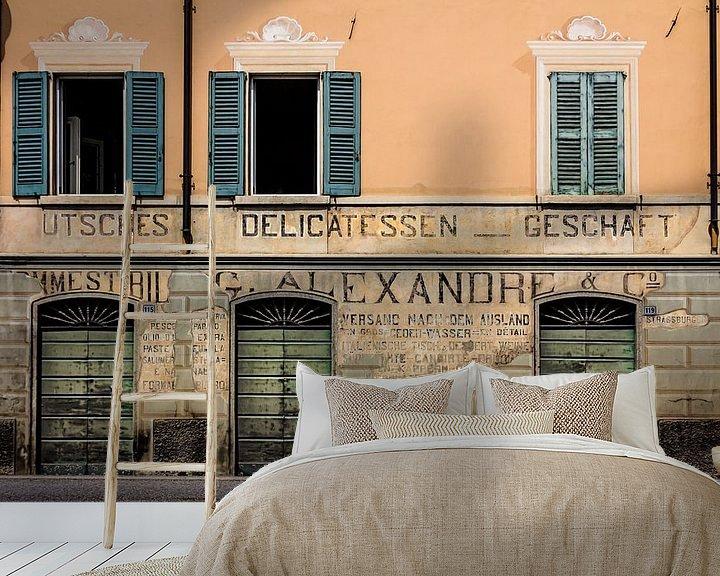 Sfeerimpressie behang: Lago di Garda - Drie Deuren van juvani photo