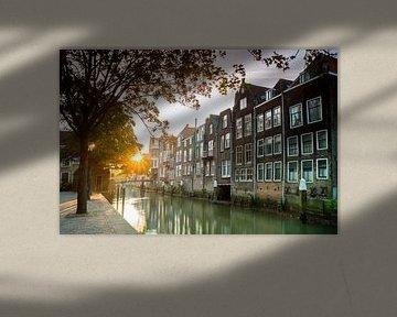 Pottenkade - Dordrecht van Jan Koppelaar
