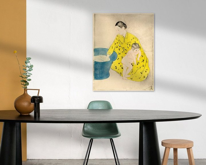 Sfeerimpressie: Het Bad, Mary Cassatt
