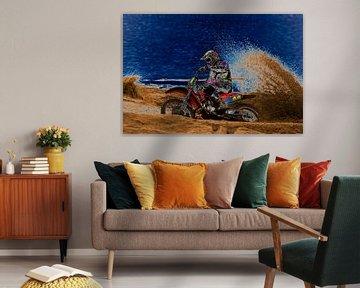 Motorcross 2 von Eddy Verveer