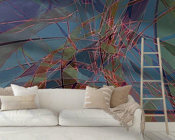 Sfeerimpressie behang: Vitrail moderne van Martine Affre Eisenlohr