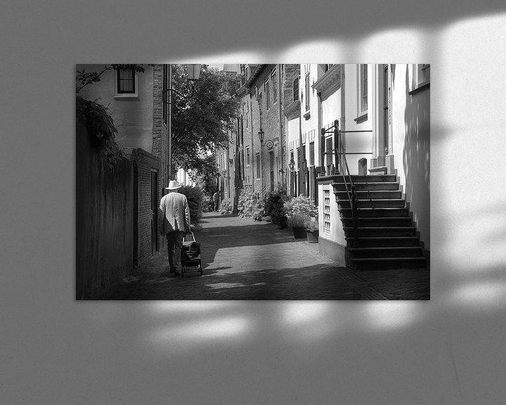 Impression: Amersfoort en noir et blanc sur Inge Hogenbijl