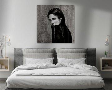 Jennifer Connelly schilderij von Paul Meijering