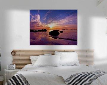 Artic sunset sur Mirakels Kiekje