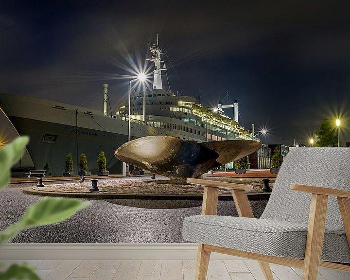 Sfeerimpressie behang: Het SS Rotterdam van MS Fotografie | Marc van der Stelt