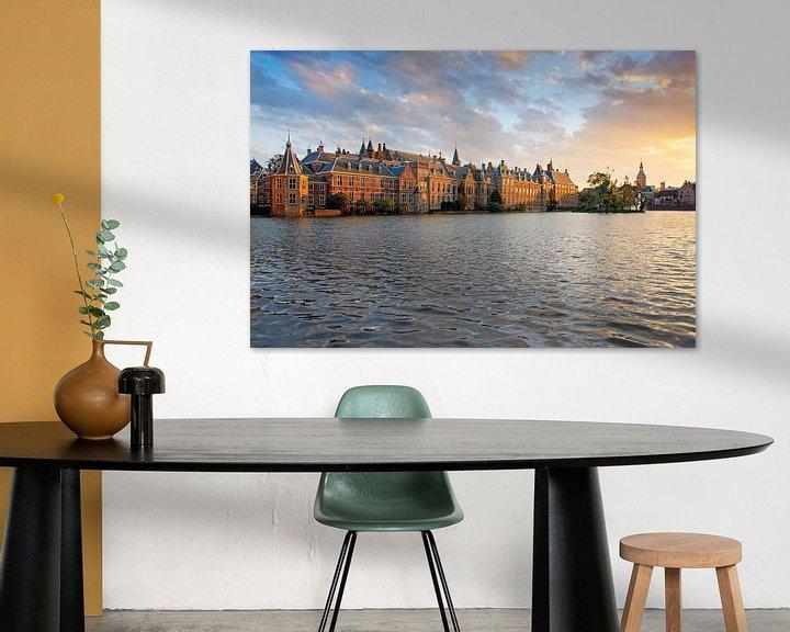 Sfeerimpressie: Binnenhof Den Haag van Anton de Zeeuw