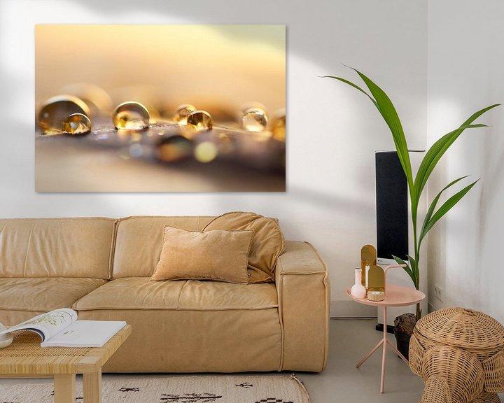 Sfeerimpressie: Golden drops van Carla Mesken-Dijkhoff