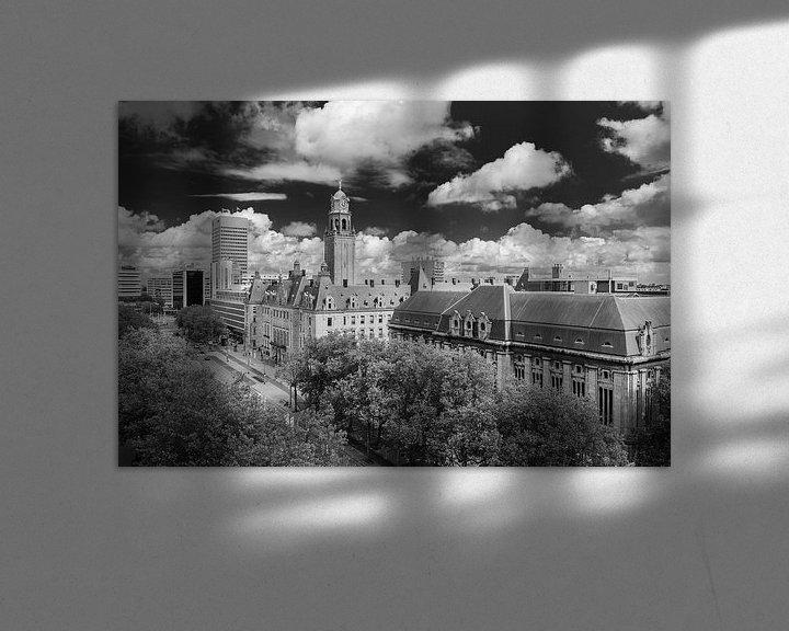 Sfeerimpressie: Coolsingel van Arthur Wolff