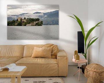 Isola del Garda in het gardameer in Italie van Remco Swiers