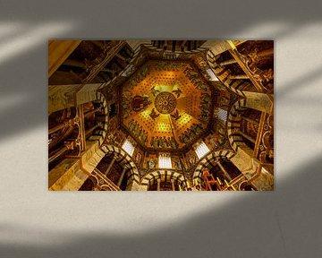 De Dom in Aken van John Kreukniet