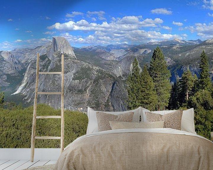Beispiel fototapete: Yosemite National Park, Panorama von Paul van Baardwijk