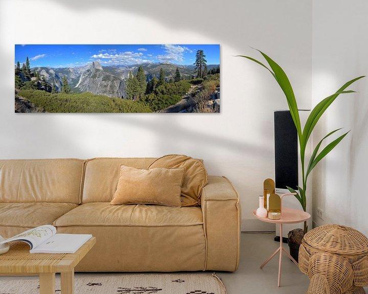 Beispiel: Yosemite National Park, Panorama von Paul van Baardwijk