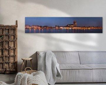 Skyline von Dordrecht von Jan Koppelaar