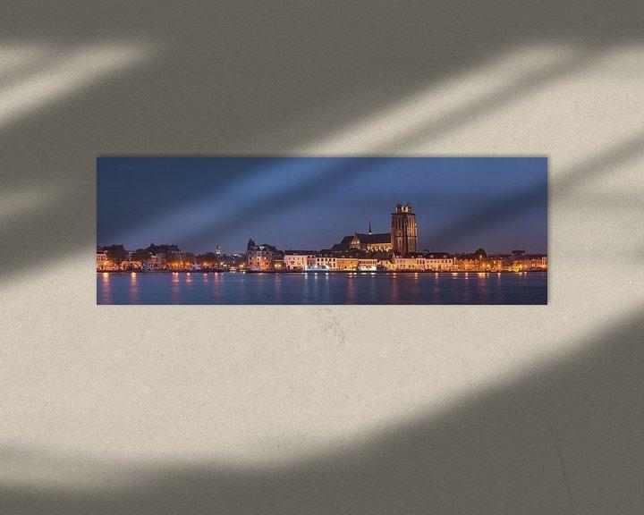 Sfeerimpressie: Skyline van Dordrecht van Jan Koppelaar