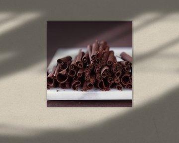 Chocolade krullen van BeeldigBeeld Food & Lifestyle