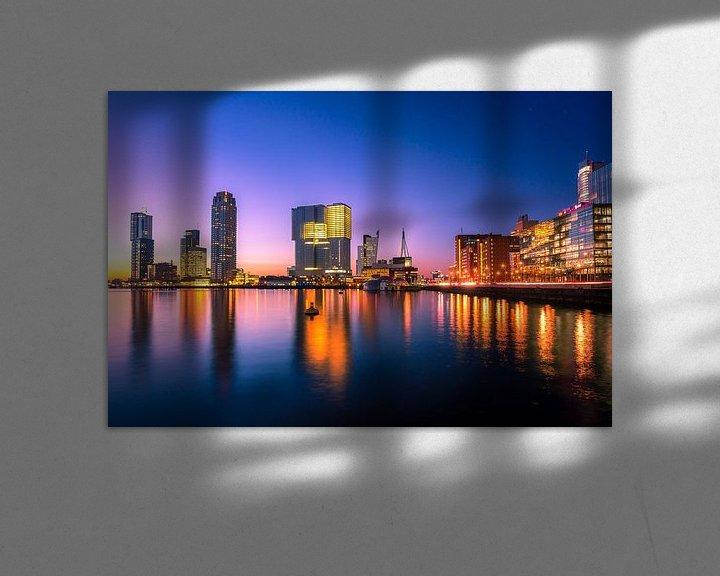 Sfeerimpressie: Kop van Zuid van Prachtig Rotterdam