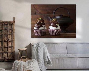 Koffie cupcakes met Irish Cream likeur en marshmallow topping van BeeldigBeeld Food & Lifestyle