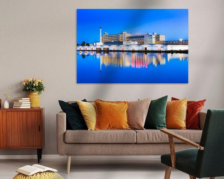 Sfeerimpressie: Van Nellefabriek tijden het blauwe kwartier van Prachtig Rotterdam
