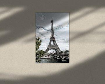 Frankrijk, Parijs, Eiffeltoren 2 von Anouschka Hendriks