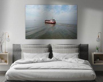 Boot op de Waddenzee von Sandra Visser