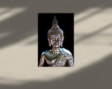 Argent Bouddha sur Jolanta Mayerberg