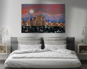 LA Moonrise sur Andrea Meyer