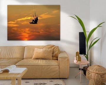 Kitesurf van Bart Stallaert