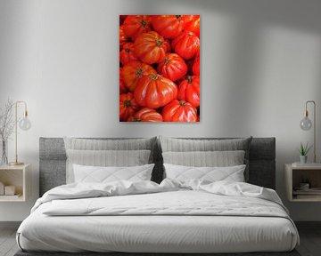 Tomaten Coeur de Boeuf  sur Nanette de Jong
