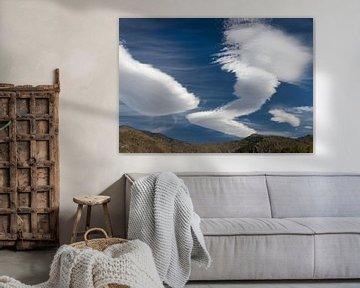 Wolkenlucht van Marcel van Balken